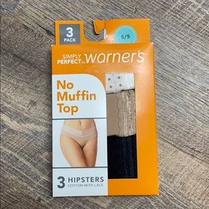 Simply perfect by Warner's no muffin top panties